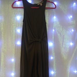 Forever 21  Olive tie front Dress